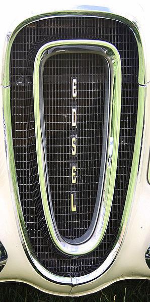 El famoso frontal del Edsel.