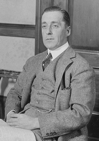 Edward Francis Hutton - Image: Edward Francis Hutton in 1916