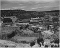 El Cerrito, San Miguel County, New Mexico. This picture was taken behind a row of houses that face . . . - NARA - 521148.tif
