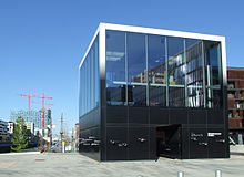 Informationspavillon zur Elbphilharmonie