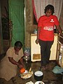 Elder Sister of the Marunya's preparing chicken.jpg