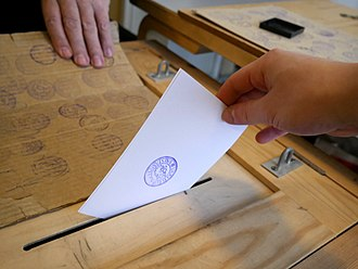 Elections in Finland - Voting.