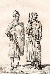 Elias I of Maine - Odo II Count of Blois.jpg