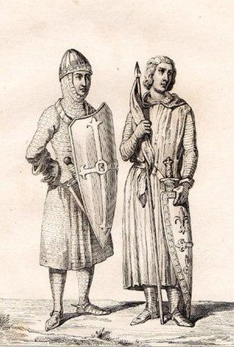 Elias I, Count of Maine - Image: Elias I of Maine Odo II Count of Blois
