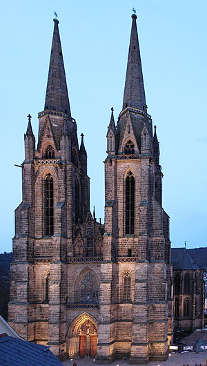 Marburg - St. Elizabeth Church (Marburg)