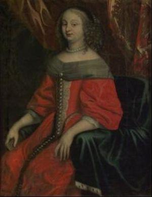 Elsa Elisabeth Brahe - Elsa Elisabeth around 1670