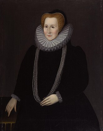 Bess of Hardwick - Bess of Hardwick, Countess of Shrewsbury, by Rowland Lockey, 1592