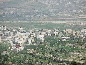 Rafat, Jerusalem - Image: Eljibeastrafat 9909