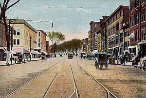 Manchester, New Hampshire - Elm Street, c. 1905
