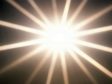L'emanazione dall'Uno, che procede fino alla materia, avviene «come un'irradiazione, come la luce del sole splendente intorno ad esso».[15]