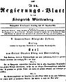 Emanzipationsgesetz 13 August 1864Eins.jpg