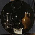 Emblematisch stilleven met kan, glas, kruik en breidel Rijksmuseum SK-A-2813.jpeg