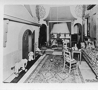 RMS Empress of Japan (1929) - 1st class children's playroom of Empress of Japan