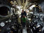 Engine room of the Onondaga submarine, Site historique maritime de la Pointe-au-pere, Rimouski, Quebec, Canada - 2012-09.JPG
