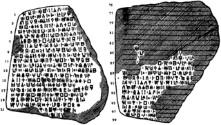 undeciphered syllabary used on the island of Cyprus during the late Bronze Age (ca. 1550–1050 BCE)