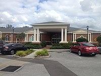 Entrance to Upper Tampa Bay Regional Public Library.JPG