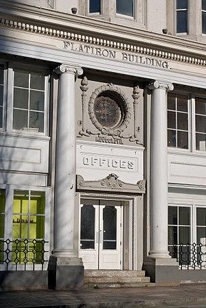 Flatiron Building (Atlanta) - Image: Entrance to the Flatiron Building Atlanta (4438170359)