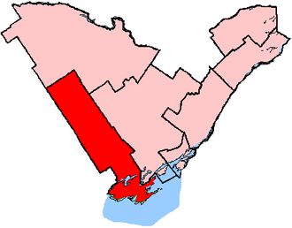 Prince Edward—Hastings - Prince Edward—Hastings shown within the Eastern Ontario region
