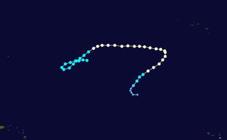 Hurricane Epsilon - Image: Epsilon 2005 track