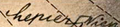 Erich Lepier signature with swastika.png