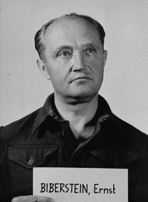 Ernst Biberstein - Ernst Biberstein at the Nuremberg Trials