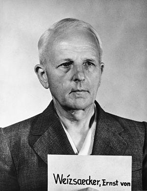 Ministries Trial - Image: Ernst Heinrich von Weizsäcker