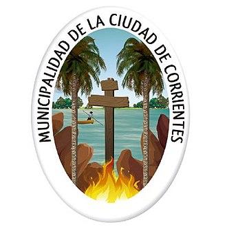 Corrientes - Image: Escudo de la Municipalidad de Corrientes