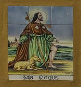 Església de Sant Roc de les Palmeres, detall (País Valencià).jpg