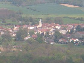 Essegney vue du Monument de Lorraine