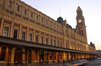 Companhia Paulista de Trens Metropolitanos - Image: Estação Luz SP