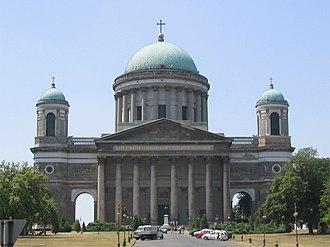 1856 in architecture - Esztergom Basilica