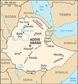 Image result for map of ethiopia cities