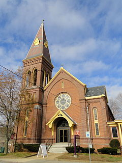 Holy Trinity Episcopal Church (Southbridge, Massachusetts) church building in Massachusetts, United States of America