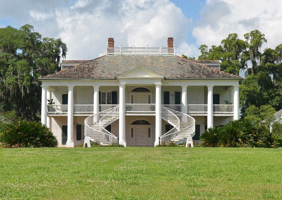 Evergreen plantation wallace louisiana wikipedia for Plantation house