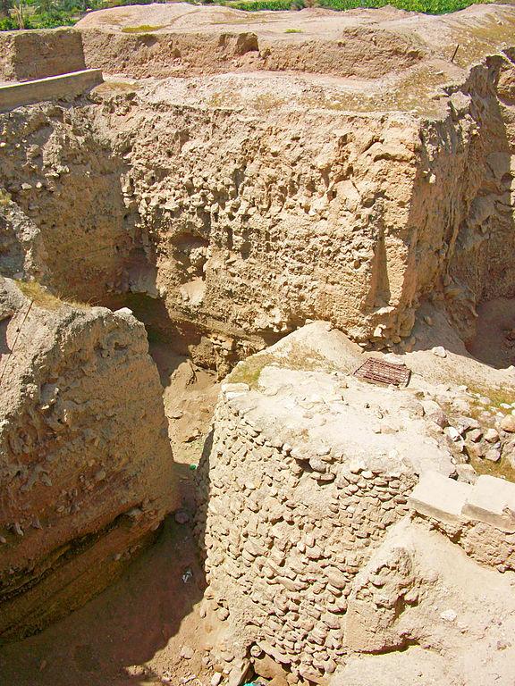 Las murallas o muros de Jericó