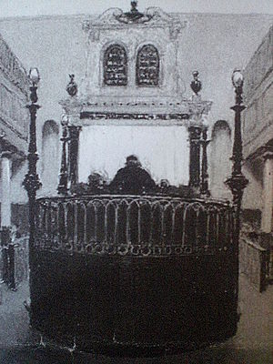 Exeter Synagogue - Exeter Synagogue, 1881, by John White