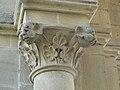 Eymet église chapiteau porche (5).JPG