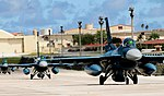 F-2A (505) of 8 Sqn arrives at Andersen Air Force Base to participate in Cope North 11-1, -11 Feb. 2011 a.jpg
