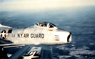 139th Airlift Squadron - 139th Tactical Fighter Squadron F-86H Sabre, 1958