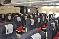 Airbus a380 wikimonde for Air france vol interieur