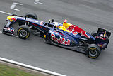 Photo de la Red Bull RB7
