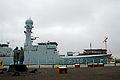 F358 Triton er den anden enhed af det danske sovaerns inspektionsskibe. Ligger her fortojet i Reykjavik (1).jpg