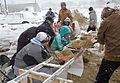 FEMA - 40429 - Mennonite volunteers fill sand bags in Minnesota in Minnesota.jpg