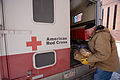 FEMA - 40527 - A Red Cross volunteer delivers food and supplies to a shelter in North Dakota.jpg