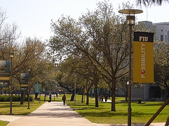 Florida International University - FIU walkways