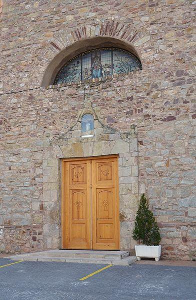 Archivo:Façana de lesglésia de la Mare de Déu dels Àngels, Almedíxer.JPG...