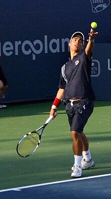 Fabio Fognini alla Rogers Cup