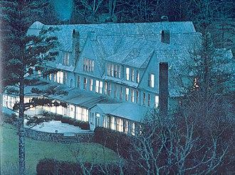Fairfield Inn (Cashiers, North Carolina) - Fairfield Inn as it looked around 1980