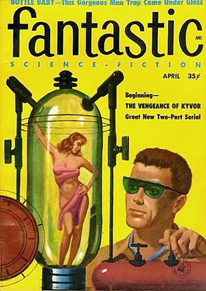 "Henry Slesar - The next month, his novelette ""Bottle Baby"" also took the cover of Fantastic"