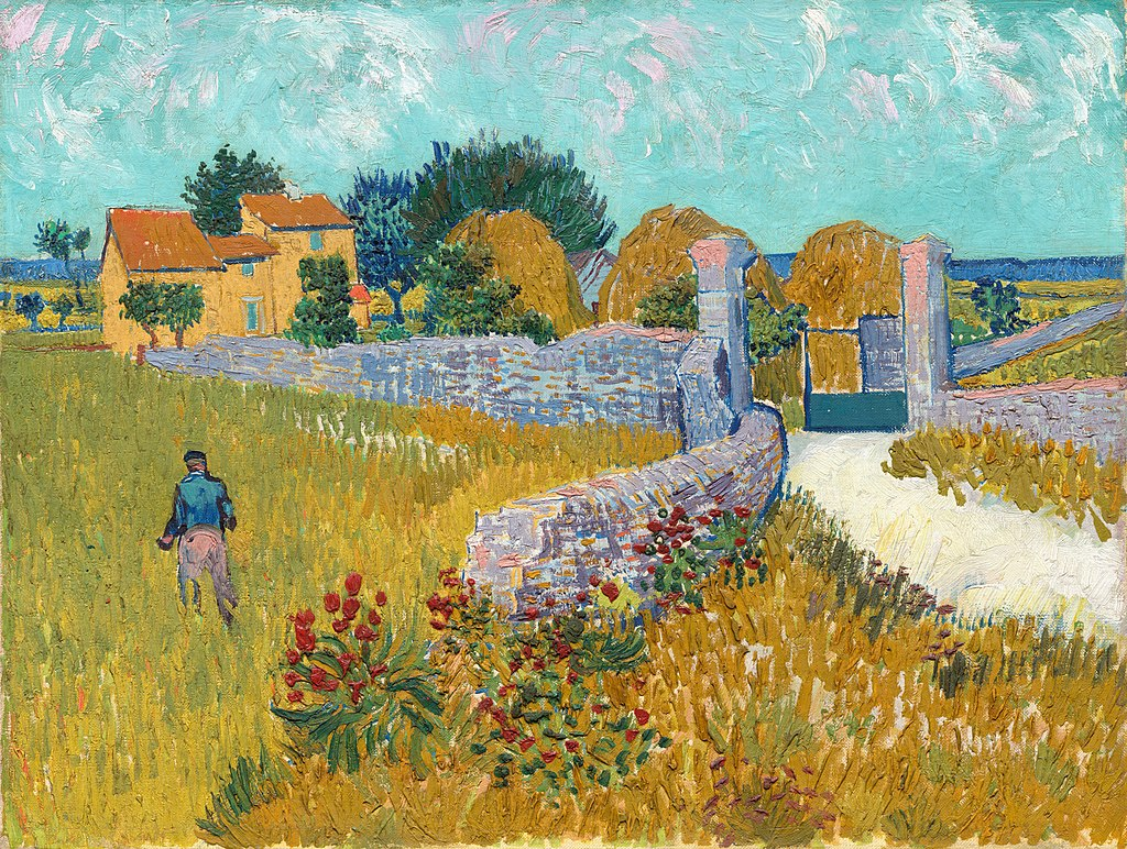"""Farmhouse in Provence"" by Vincent van Gogh"
